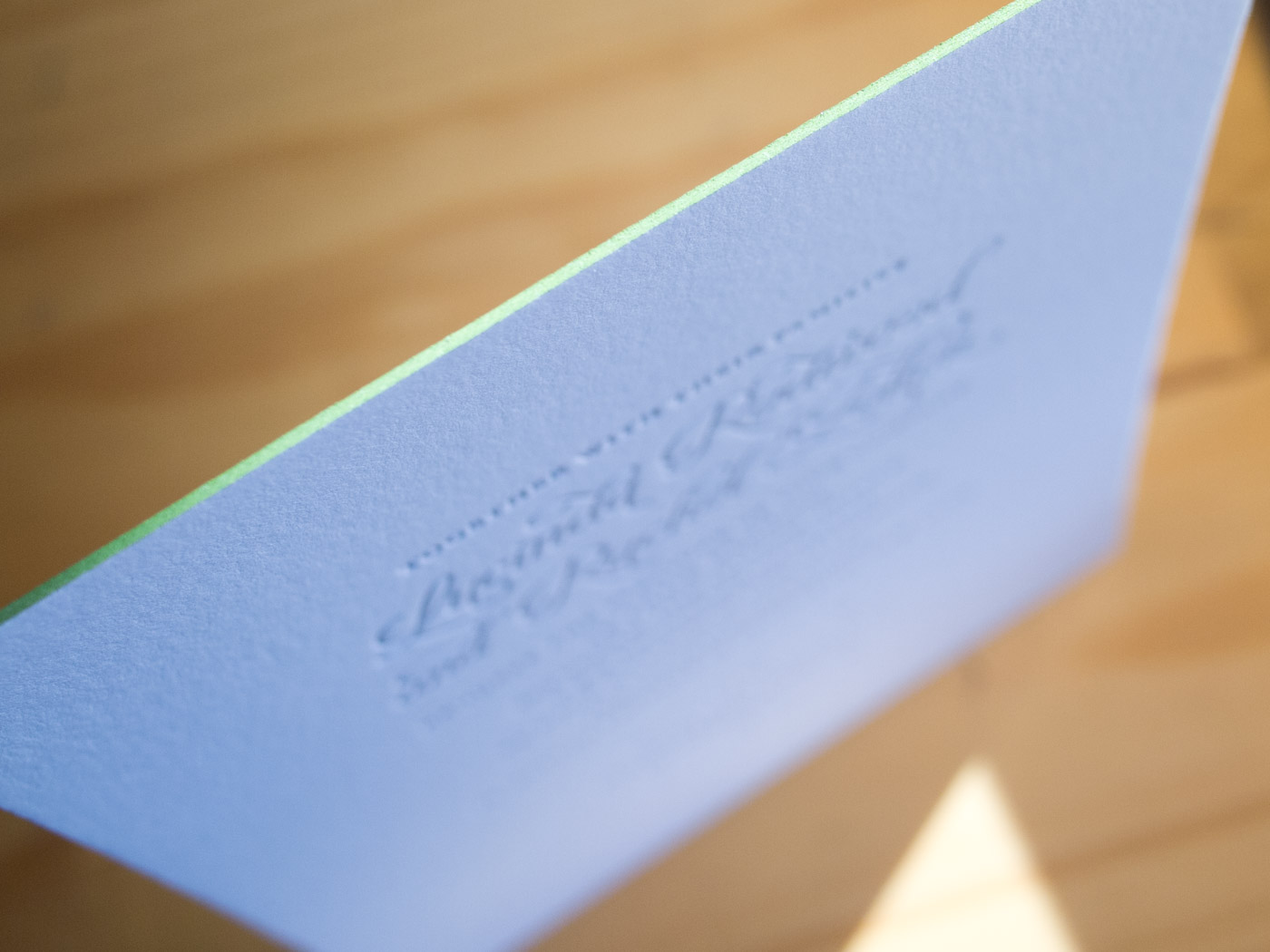 Coquette invitation from Parklife Press